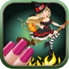 Aaaah! Witch Wedding Nail Salon Fashion Makeover