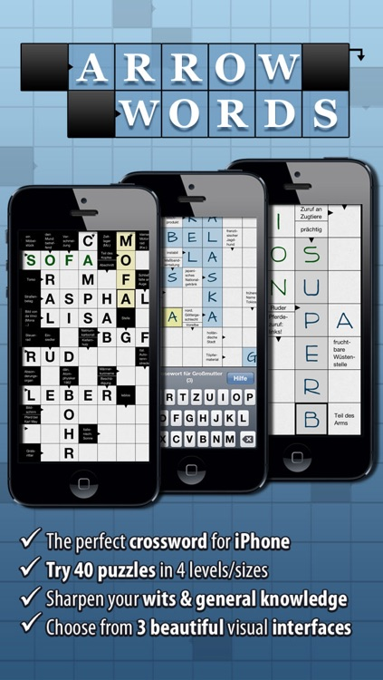 Crossword Arrow Words The Free Crosswords Puzzle App For Iphone
