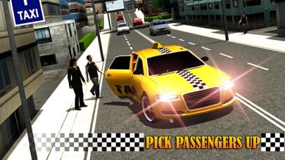 Screenshot #3 pour Modern Taxi Driving 3D