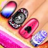 Spa manikyr nagelsalongen: spel för flickor att bli en manikyr och göra naglar