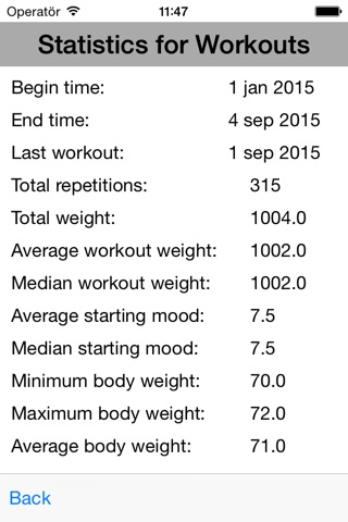 ExerLog - Log Your Workouts screenshot 4