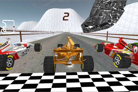 Super Formula Racing 3D screenshot 3