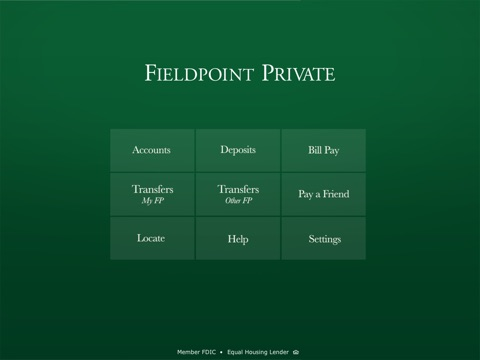 Fieldpoint Private for iPad screenshot 1