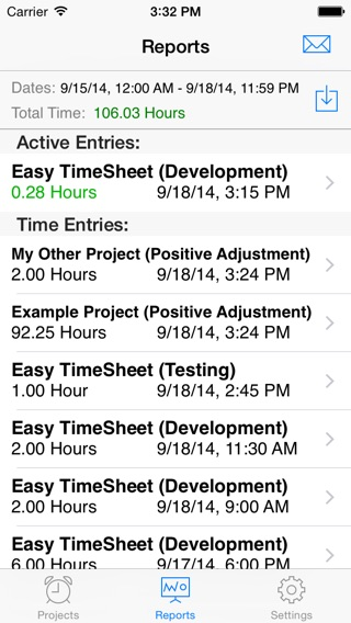 Easy TimeSheet on the App Store
