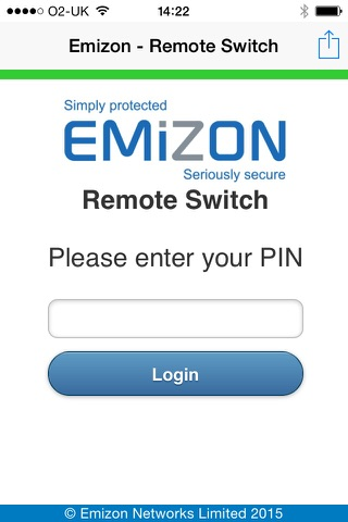 Emizon Remote Switch screenshot 1