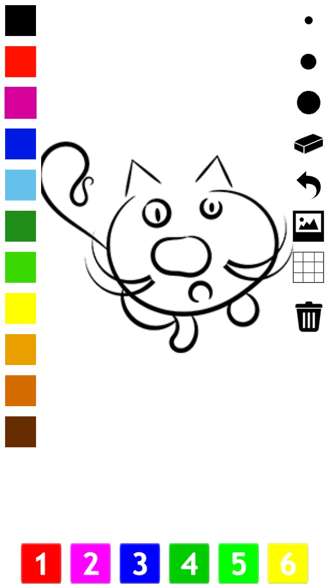 download A Coloring Book for Little Children: Learn to draw and color cat and kittens apps 4