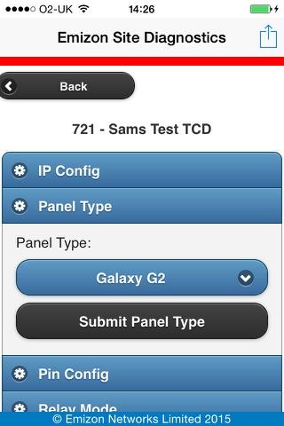 Emizon Site Diagnostics screenshot 4