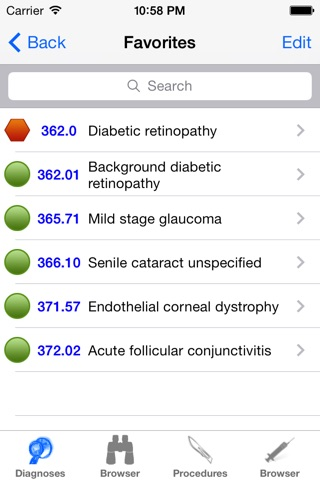 ICD9 Consult 2015 screenshot 4