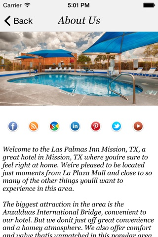 Las Palmas Inn Mission,TX screenshot 2