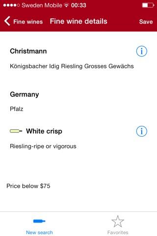 Fine wine check pro screenshot 3
