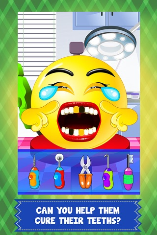 Pet Emoji Little Dentist & Baby Spa Salon - my little emoticon doctor & kid mommy games! screenshot 2