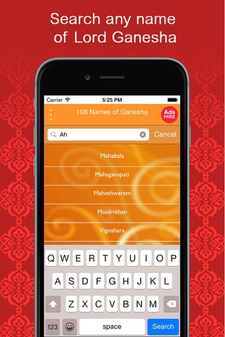 108 Names of Ganesha - Chant Ganesha's name! One for every reason! 108 for every season! screenshot 3