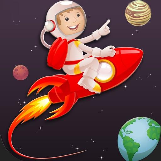 Astronaut Rocket Spaceman Moon Runner - Buzz Aldrin Apollo Space Exploration Maze Game iOS App