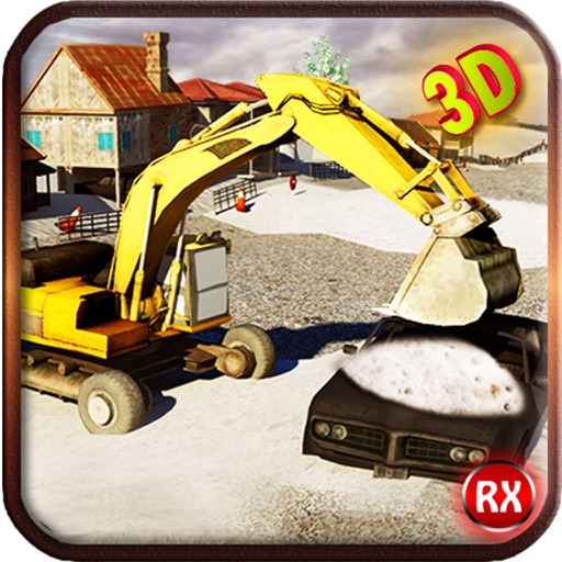Snow Plowing Simulator - Heavy Excavator Machine 3D iOS App