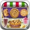 Bakery Milkshake Cookie Food Maker - fair dessert fun game for kids, boys, and girls