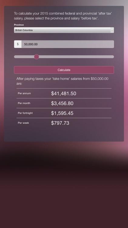 canadian salary calculator 2015 by dmitry fadeev