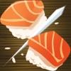 Japanese Sushi Restaurant Chop: Steel Samurai Sword