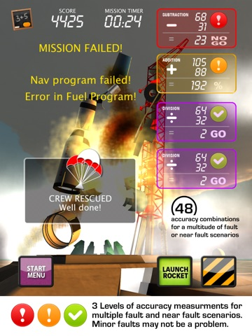Screenshot #2 for MATH IGNITION™ Launch, LM Dock & TLI [iPad edition]