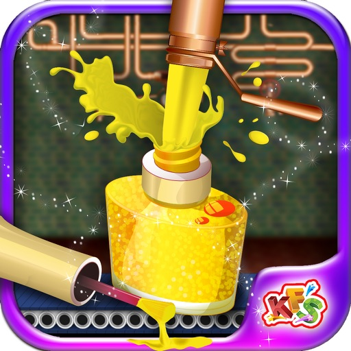 Princess Makeup Kit Factory – Make parlor products in this beauty salon game for kids iOS App