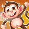 Attivo! Apprendimento Gioco Per i Bambini Con Gli Animali Della Foresta Per Giocare e