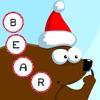 ABC Natale! Gioco per bambini: Imparare di scrivere le parole e l'alfabeto con gli animali della foresta. Gratis, nuovo, cultura, buon Natale!