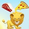 活躍!遊戲對孩子野生動物園 - 學會像餵動物:獅子,大象,鱷魚,河馬,猴子和鸚鵡在叢林,熱帶稀樹草原或沙漠!