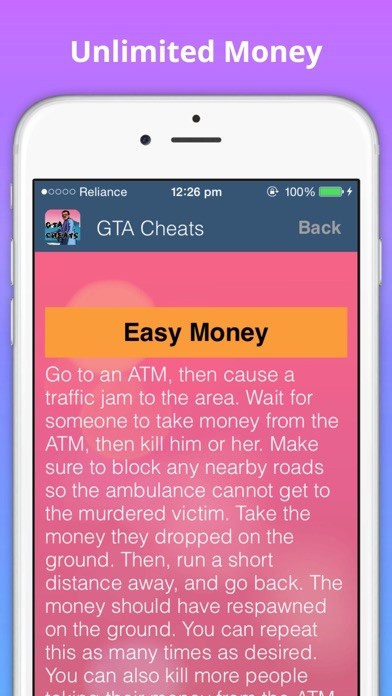 gta vice city cheats download for android mobile