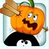 Stickman Pumpkin Shooting Showdown Bow and Arrow Free: Halloween Edition