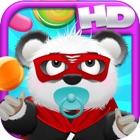 Bebé Panda Bears caramelo Rain HD - Fun Jumping Nube Edición Juego GRATIS! Baby Panda Bears Candy Ra icon