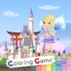 Coloring Book Princess Castle Education Game For Kids