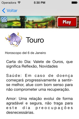 Horoscopo do Dia screenshot 2