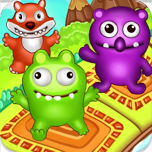Block Monsters Tower Stacker - Kids Games Free iOS App