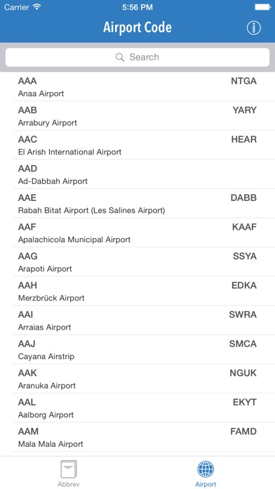 Aviation Abbreviation .μɣ Screenshot 4
