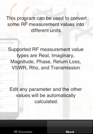 RF Converter screenshot 2