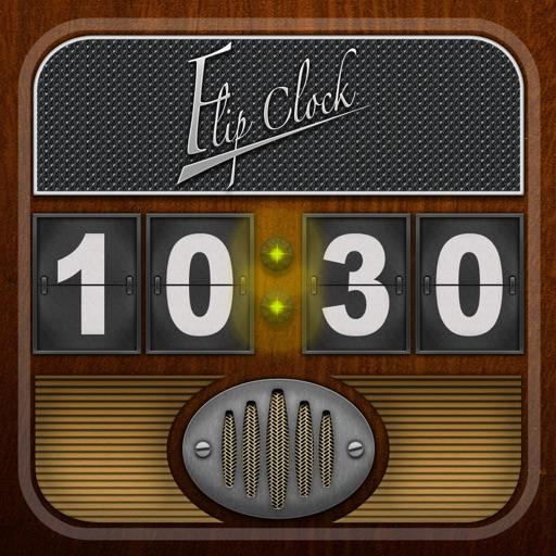 翻页时钟收音机:Flip Clock + radio【复古带感应用】