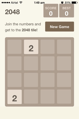 2048 (Free) screenshot 1
