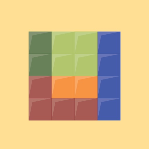 Block Puzzle - fill and fit blocks into center square iOS App