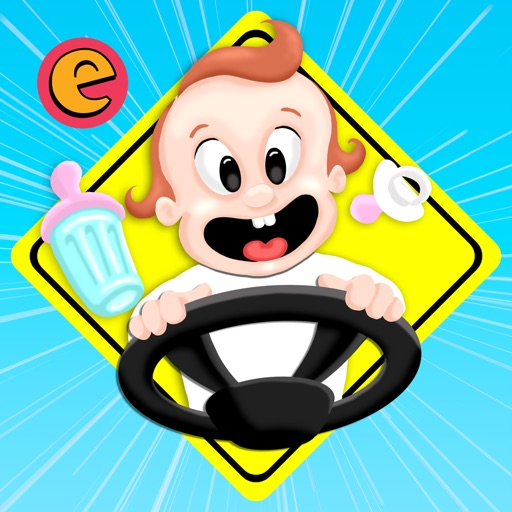 Baby on Board - Kids Car Driving Game