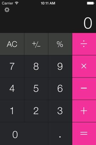 Calculator Free - for iPad screenshot 4