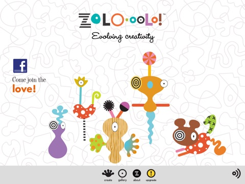 ZoLO•oolo Lite Creative Play Sculpture. Entertaining game play. Educational shape activity. Creative learning for kids, parents, preschool, babies, all ages. Gender neutral. Free screenshot 1