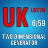 Lotto Winner for UK Lotto 6/59