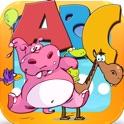 تعليم براعم الاطفال الحروف الهجائية و اللغة الانجليزية