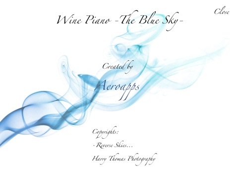 Wine Piano -the Blue Sky- Free Скриншоты6