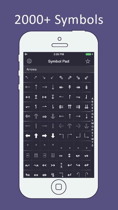 Symbol Pad - 2000+ Symbols Screenshots