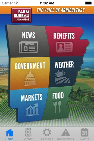 Arkansas Farm Bureau Federation screenshot 1