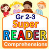 Reading Comprehension - Grade 2 & 3 - Super Reader