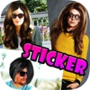 Cool New Hair Way : Pimp your Photos with Sticker Camera for Instagram and more