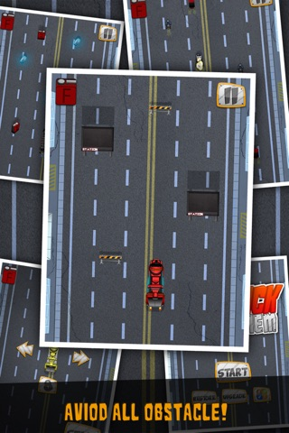 Big Truck Dot Mayhem-Gem City Racing Free by Appgevity LLC screenshot 4