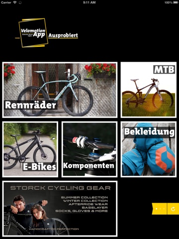 Velomotion App - Magazin screenshot 1