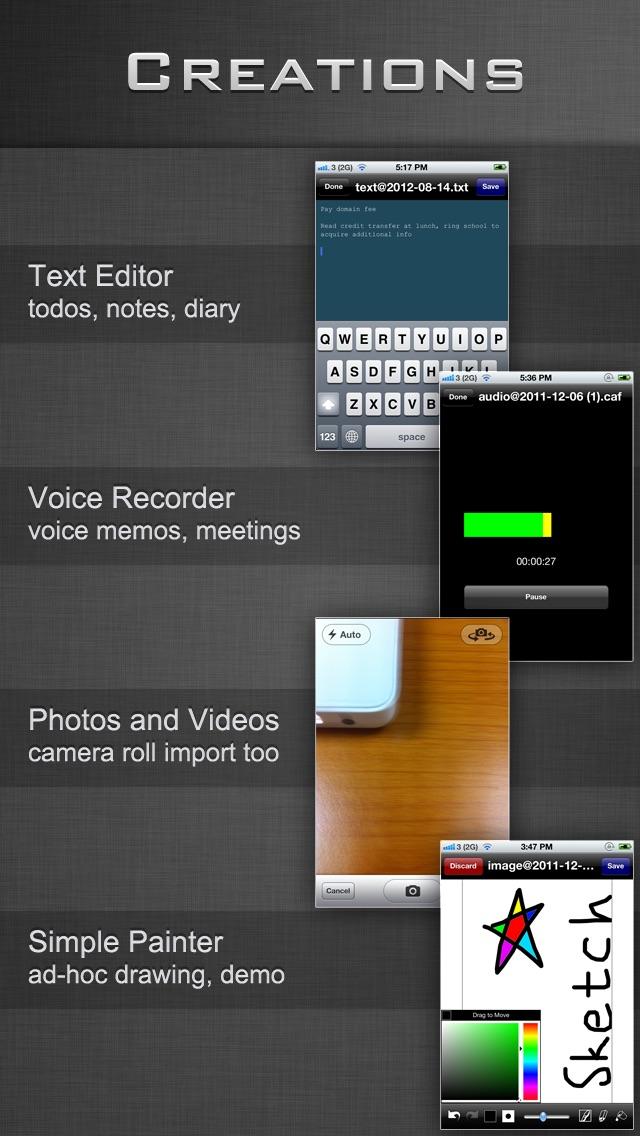 Screenshot of File Manager - Folder Plus3